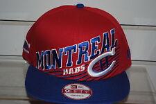 MONTREAL CANADIENS NHL HOCKEY New Era Snapback cap hat Still Anglin style