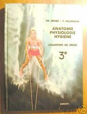 ANATOMIE / PHYSIOLOGIE / HYGIENE 3ème - Bordas EO 1973