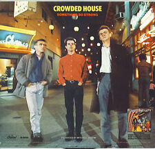 CROWDED HOUSE  Something So Strong / I Walk Away  45 with PicSleeve