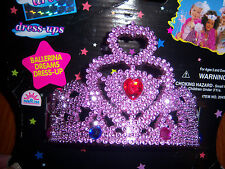 Tiara Princess Beauty Pageant Girl Dress Up Tiara with Gems and combs NEW