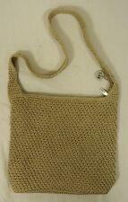 The Sak Original Purse Polypropylene Female Adult Shoulder Bag Beige Woven 69-61