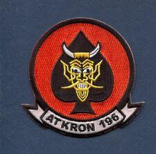 VA-196 MAIN BATTERY US NAVY GRUMMAN A-6 INTRUDER Attack Squadron Patch
