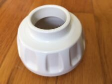 Replacement Part: White End Cap OMEGA 8003-8006 Juicer for Drum Unit #1 or #2