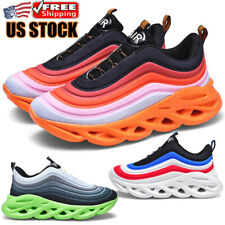 Men's Shoes Running Casual Gym Workout Athletic Tennis Soft Sneakers Jogging