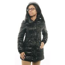 Schott N.Y.C Women long Puffer Jacket Puffer Black Size S
