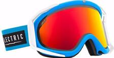 Electric Rig Ski Snowboard Goggles Code Blue Free Bonus Lens EG1414202 BRDC