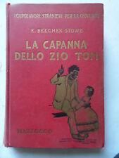 """""""LA CAPANNA DELLO ZIO TOM"""" -E.BEECHER STOWE- Ed. MARZOCCO 1951-S9"""