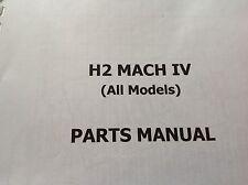 KAWASAKI H2 A B C parts catalogue KH 750 covers all H2 models.