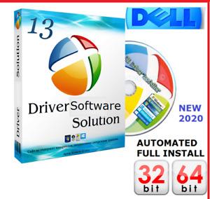 DELL WINDOWS DRIVERS DISC DVD PC & Laptop Recovery|Restore| XP|Vista|7|8| 10 UK