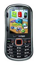 Samsung SCH-u460 INTENSITY II 2 Cell Phone VERIZON No Contract QWERTY DEEP GRAY