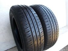 2x Sommerreifen Continental EcoContact 3 195/65 R15 91T DOT4009 5,7mm & 3,7mm