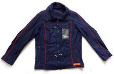 "Men's Vintage 70's Dark Blue Jacket Anorak Ski Retro Medium 38"" Chest"