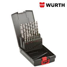 Serie di 18 Punte trapano HSCO per acciaio e inox Würth. leggi Inserz. interna