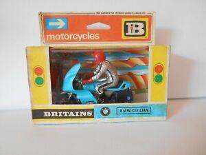 Britains BMW Civilian Motorcycle 9696 mint Boxed