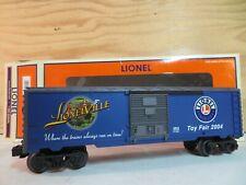 LIONEL TRAIN 2004 TOY FAIR RAILROAD FREIGHT BOX CAR 6-29919