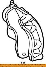 Dodge CHRYSLER OEM 03-06 Sprinter 2500 Front Brake-Disc Caliper 5127486AA