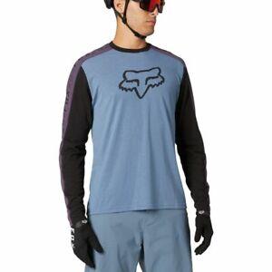 Fox Racing 2021 Ranger Drirelease L/S Long Sleeve Jersey Matte Blue