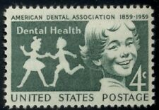 #1135, 4¢ Dental Health, Lot 400 Mint Stamps Spice Your Mailings