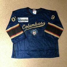 Columbus Cottonmouths 2009 SPHL Mesh Lightweight Hockey Jersey XL Blue