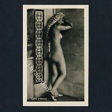 Lehnert & país rock nude Arab Girl nº 6014 desnudas araberin * vintage 20s photo PC