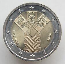 LATVIA 2 € EURO Baltic States 100 2018 Latvia Commemorative Coin