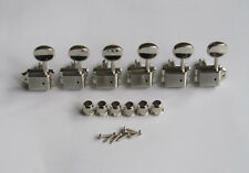 Left Handed Nickel Strat/Tele Vintage Guitar Tuning Keys Tuners Machine Heads