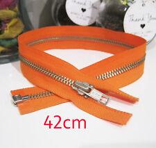 YKK 42cm Metal Tooth Fashion Dress Zip / Zipper Open End Size 5