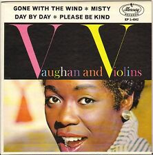 """SARAH VAUGHAN """"GONE WITH THE WIND"""" VOCAL JAZZ 60'S EP MERCURY EP-1-4042"""