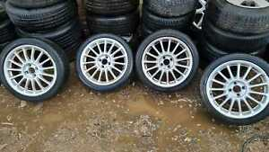 MG ZS 2005 ALLOY WHEELS SET OF 4  4 STUDS 205/45/17 7JX17CH-45