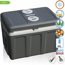 Nevera portátil eléctrica de viaje para coche, camping, 12V/230V, capacidad 45 L
