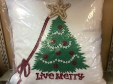 CHRISTMAS COUNTDOWN PILLOW HALLMARK NEW WITH TAGS INSIDE PLASTIC BAG