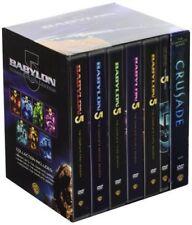 Babylon 5 Complete Series Season 1 2 3 4 5 + Movie + Crusade DVD Box Set | NEW