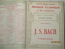 PIANO  -  PARTITIONS SIGNEES DE L'EDITEUR -  REF. 1