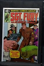 Sgt Fury and His Howling Commandos #162 Marvel 1981 Stan Lee Blazing Battle 9.0