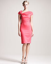 Valentino Wool Pink Techno Couture Bow SO ELEGANT Size I 40 UK 8 US 4 S Small