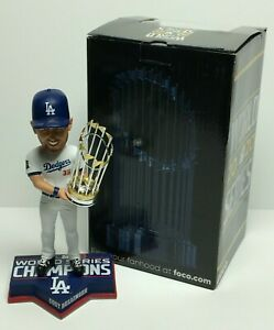 Cody Bellinger Signed 2020 World Series Bobblehead w/ Trophy *WS Champs Fanatics