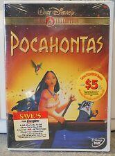 Pocahontas (DVD 2000 Gold Collection) RARE DISNEY BRAND NEW W BUENA STAMP