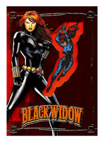 2015 Upper Deck Black Widow Comic Con Exclusive Embedded Patch Card Marvel Comic