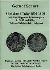 SCHNEE, GERNOT: SÄCHSISCHE TALER 1500-1800 (Reprint/CD).