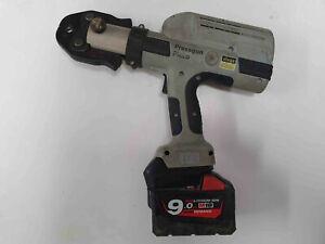 Viega Picco pressgun battery adaptor to 18V Milwaukee battery