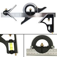 300mm Metall Kombination Square Lineal Präzise Edelstahl Mess Winkel Werkzeug