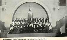 c1910 Vintage Postcard; Hope Chapel Ladies' Chorus & Glee Club, Minneapolis MN