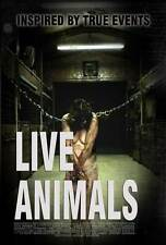 LIVE ANIMALS Movie POSTER 27x40 John Still Christian Walker Jeanette Comans