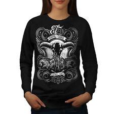 Wellcoda Chupacabra Fantasy Womens Sweatshirt, Sacrifice Casual Pullover Jumper