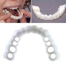 Perfect Smile Cosmetic Teeth Fake Upper Tooth Cover Dental Natural Snap On Smile