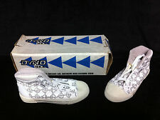 Rare 1980s BOYS DYNO HIGH TOPS SIZE 3 Old School BMX Freestyle Hutch GT CW Shoes