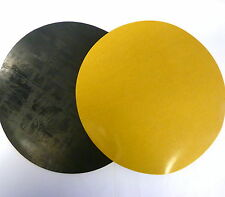 Pack of 2 220mm Self Adhesive Rubber Discs, Flange Cover, Neoprene Stick On Disc