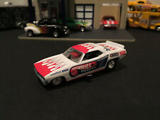 1:64 Hot Wheels LE Don The Snake ll Prudhomme Plymouth Barracuda Funny Car White
