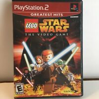 Sony Playstation 2 PS2 - Lego Star Wars The Video Game Greatest Hits