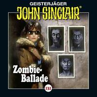 ZOMBIE-BALLADE - JOHN SINCLAIR-FOLGE 131   CD NEW
